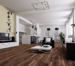 Паркетная доска Global Parquet Hardy HDF Collection Ясень Brown